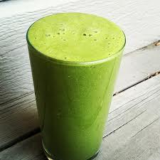 Detox dieet met groentesappen.